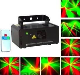 Мини портативный лазер для дома, кафе, клуба Лазаревское