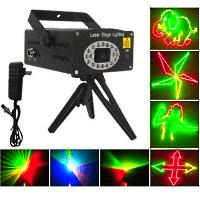 Анимационный лазерный проектор Лазаревское